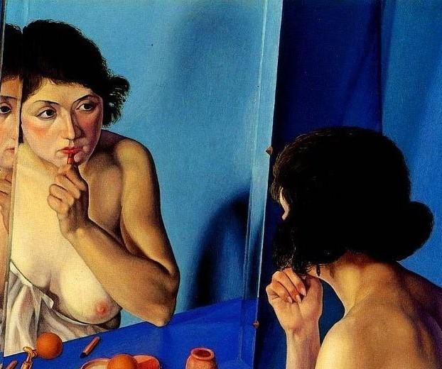 donna-allo-specchio-1927